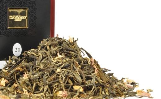 Чай зеленый Dammann The Passion de fleurs (Дамманн Цветочная страсть) в  жестяной банке 60 гр.