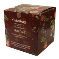 Чай Gutenberg черный Эрл Грей в пирамидке