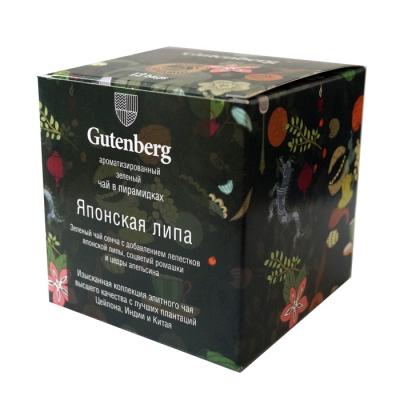 Чай Gutenberg зеленый Японская Липа в пирамидках