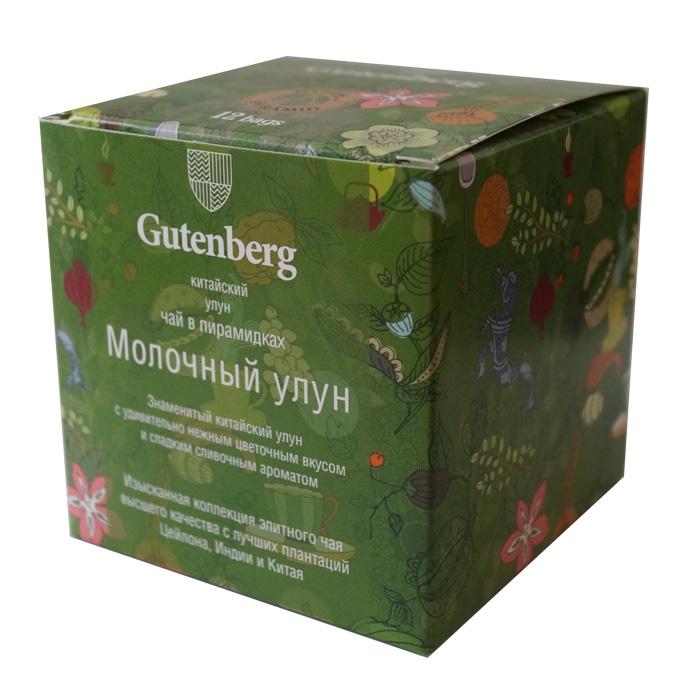 Чай Gutenberg улун Молочный улун в пирамидках