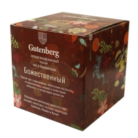 Чай Gutenberg черный Божественный в пирамидках