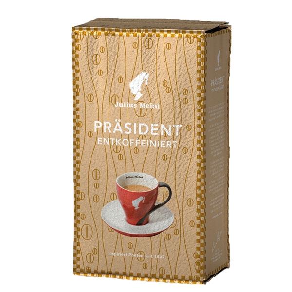 Кофе молотый Julius Meinl President Entkoffeiniert (Юлиус Майнл Президент без кофеина) 250 г