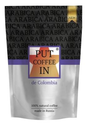 Кофе Agazzi Put coffee IN de Colombia растворимый сублимированный 75 г