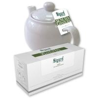 Чай зеленый для чайника в пакетиках Sigurd Sencha сенча 75 г