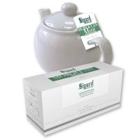 Чай зеленый для чайника в пакетиках Sigurd Moroccan Mint морокканская мята 75 г