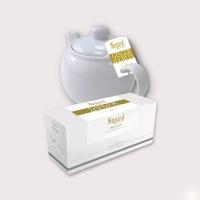 Чай зеленый для чайника в пакетиках Sigurd Ginger&Lemon Имбирь-лимон 75 г