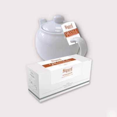 Чай черный для чайника в пакетиках Sigurd Orange&Cinnamon Апельсин с корицей 75 г