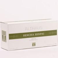 """Чай зеленый Althaus (Альтхаус)""""Сеньча Сенпай"""" пакетированный для чайника"""