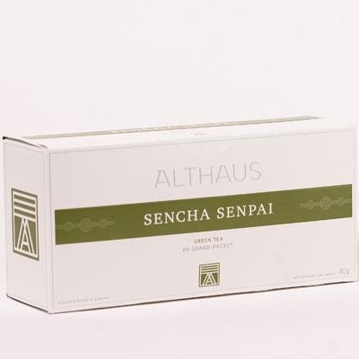 Чай зеленый Althaus (Альтхаус) Сеньча Сенпай пакетированный для чайника