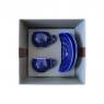 Подарочный набор для эспрессо Danesi голубой, на 2 персоны