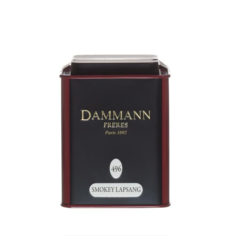 Чай черный Dammann Smokey Lapsang (Дамман Лапсан Сушонг) листовой в жестяной банке 100 гр.