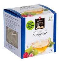 Освежающий травяной чай в пакетиках Swiss Alpine Herbs из Альпийских трав 14шт х по 1 г