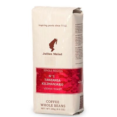 Кофе Julius Meinl Танзания Килиманджаро №1 в зернах 250 г