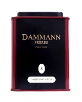 Чай черный Dammann Darjeeling G.F.O.P. (Дамман Дарджилинг) листовой в жестяной банке 30 гр