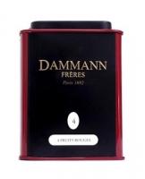 Чай черный Dammann The 4 Fruit Rouges (Дамман Четыре Красных Фрукта) листовой в жестяной банке 30 гр