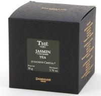 """Чай зеленый """"Зеленый чай с жасмином"""" Dammann The Vert au Jasmin листовой в шелковых пакетиках 25 шт."""