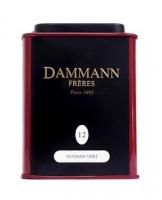 Чай зеленый Dammann The Vert Yunnan (Дамманн зеленый Юннань) листовой в жестяной банке 30 гр
