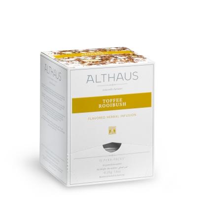Чай травяной Althaus Тоффи Ройбуш в пирамидках 15 шт