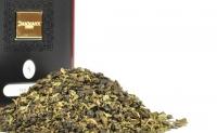 Чай зеленый Dammann The Vert Menthe Touareg (Дамман Зеленый с мятой Туарег) листовой в жестяной банке 90гр.