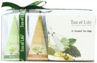 Подарочная чайная коллекция Tea of Life Wellness Tea Collection в пирамидках 12шт 24 г