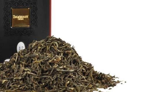 Чай зеленый Dammann The Vert Yunnan (Дамманн Зеленый Юннань) листовой в жестяной банке 100 гр.